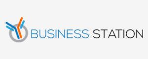 Business station logo